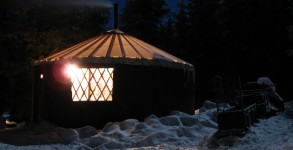 Three Sisters Backcountry Yurt