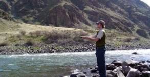 Flyfishing in Hells Canyon, Oregon