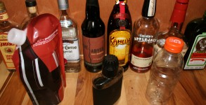Alcoholic Beverage Containers for Backpacking