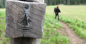 Pacific-Crest-Trail Marker-Blaze-Oregon